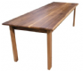 Solid American Black Walnut Dining Table - The Thixendale